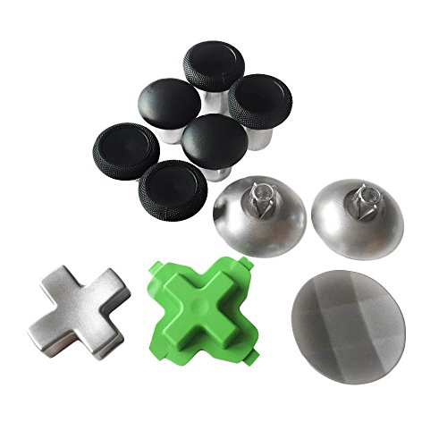 ElementDigital Wireless Controller Replacement Swap thumbsticks Fits (11 pcs) for Xbox one Controller (11 Pcs)