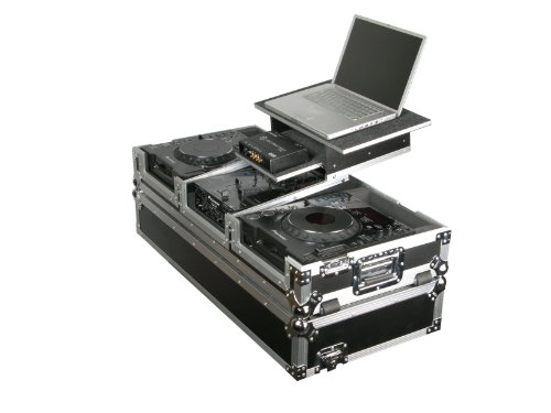 - Odyssey FZGS10CDJW Flight Zone Glide Style Ata Case With Wheels For A 10 Mixer And Two Large Format Cd Players