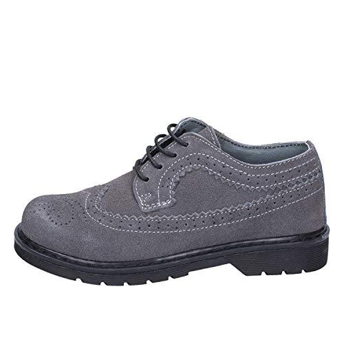 DIDI BLU Oxfords-Shoes Baby-Boys Suede Grey 7 US