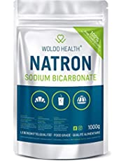 Soda-poeder van voedingskwaliteit natriumbicarbonaat 1.000 g - hersluitbaar zakje