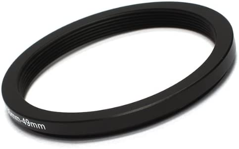 Pixco 55-49mm Step-Down Metal Adapter Ring 55mm Lens to 49mm Accessory