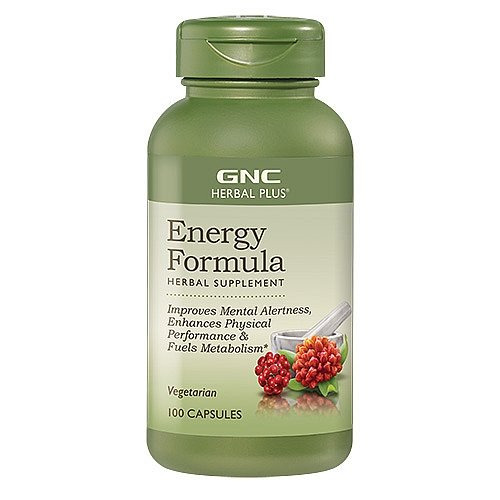 GNC Herbal Plus Energy Formula 100 Capsules