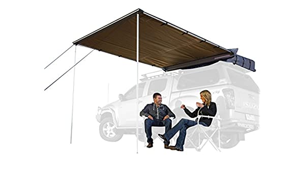 2000x2500mm 6.5 x 8.2 Feet 814201 ARB 4x4 Accessories 814404 Retractable Awning with Led Light Strip