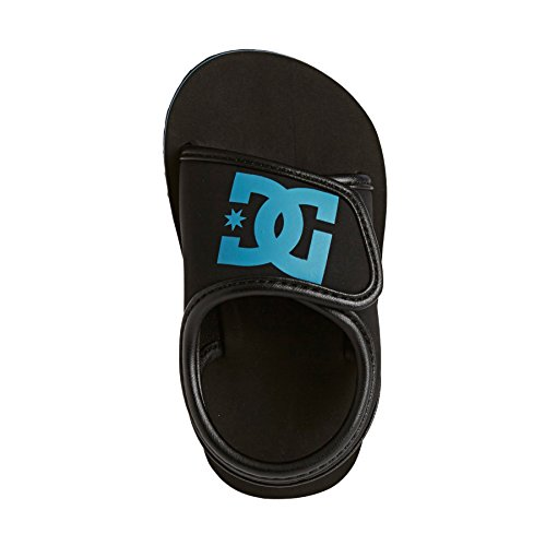Dc Shoes Bolsa - Chanclas Para Bebés (Niños/Kids) Black/Blue