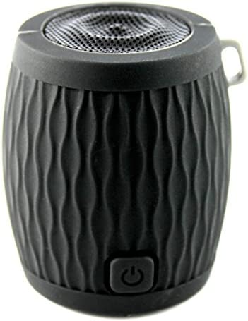 WAAV Rocker Mini Bluetooth Speaker for iOS Black , iPhone, iPod, iPad and Android Devices Deluxe