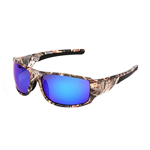 Polarized Camouflage Polarized Sports Sunglasses Unisex - Camo patterns Sun Glasses for...