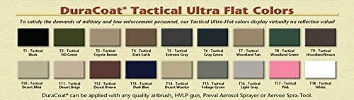 Amazon com duracoat 4 oz any standard tactical metal