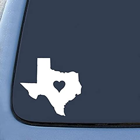 NI164 Texas Love State Sticker Decal Notebook Car Laptop 5.5