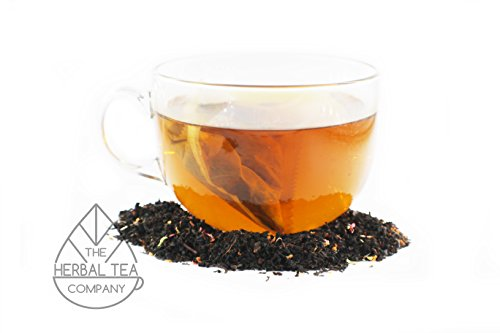 Holy Thistle Herb Blessed Black Raspberry Tea Bags With Mango Flavour 50 pack by The Herbal Tea Company