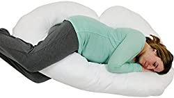 Blowout Bedding J-Shaped Premium Contoured Pregnancy Pillow