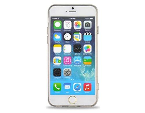 Apple iPhone 6s 6 Case, Fone-Stuff® - Sexy Lip-Muster Schutz Gel-Abdeckung in Rot (mitgelieferte Displayschutzfolie)