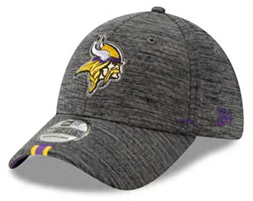 Nfl Training Camp - New Era 2019 NFL Minnesota Vikings Training Camp Hat Cap Flex 39Thirty (M/L) Graphite