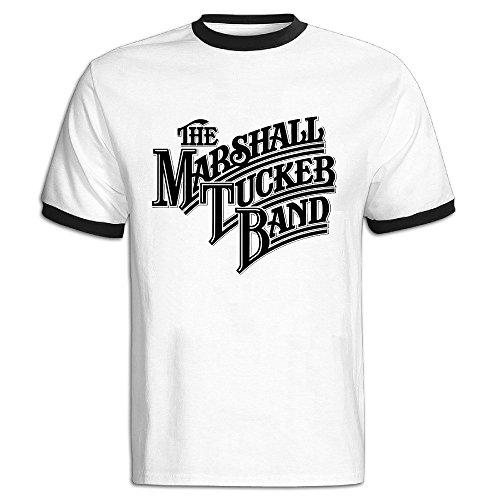 FENGTING Men's The Marshall Tucker Band Logo T-shirt Size XL Black (Shirt Band Marshall Tucker)