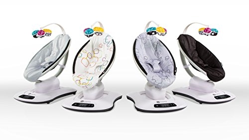 Image of the 4moms mamaRoo 4 infant seat – grey classic