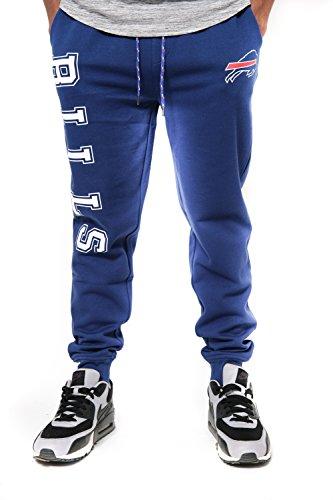 NFL Buffalo Bills Men's Jogger Pants Active Basic Fleece Sweatpants, X-Large, Team Color