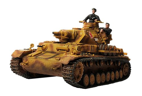 Forces of Valor German Panzer IV Ausf  F (New Package and Paint)