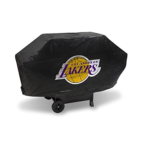 Rico NBA Los Angeles Lakers Deluxe Grill Cover, Black, 68 x 21 x 35 by Rico