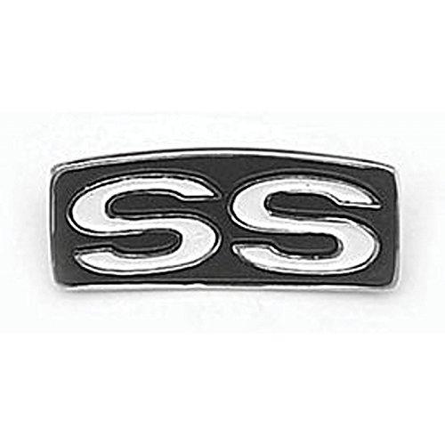 Eckler's Premier Quality Products 50-204285 Chevelle Steering Wheel Shroud Emblem, Super Sport (Steering Wheel Shroud)