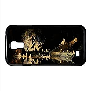 Cave Watercolor style Cover Samsung Galaxy S4 I9500 Case (Landscape Watercolor style Cover Samsung Galaxy S4 I9500 Case)