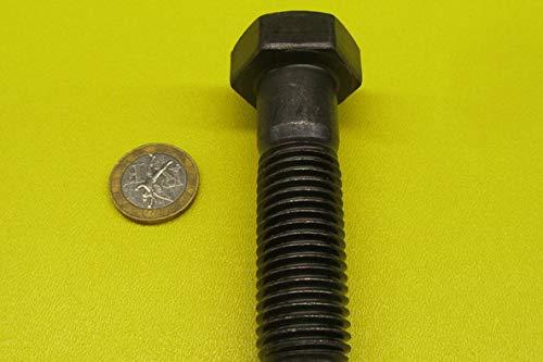 Metric Class 10.9 Steel Hex Head Bolts 5 pcs. Partially Threaded M20 x 2.5 mm Thread x 70 mm Long