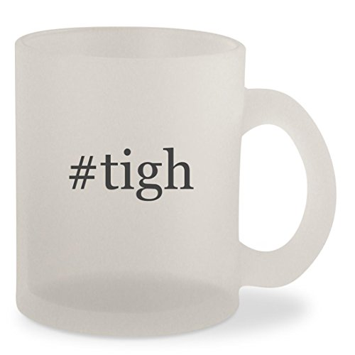 #tigh - Hashtag Frosted 10oz Glass Coffee Cup Mug