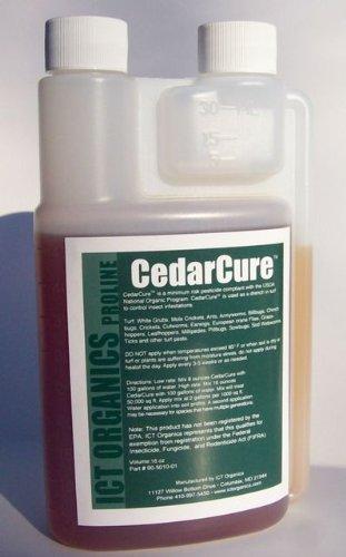Cedar Cure(16oz) Tick, Ant, Earwig, Grub Control by Cedar Cure