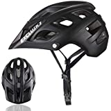 Exclusky Mountain Bike Helmet CPSC Certified for Women Men - Adjustable M L Size (22.05-24.01 Inches)