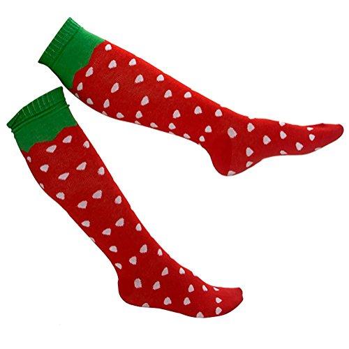 Gravity Threads Pattern Design Knee Length Socks, (Thread Design Patterns)