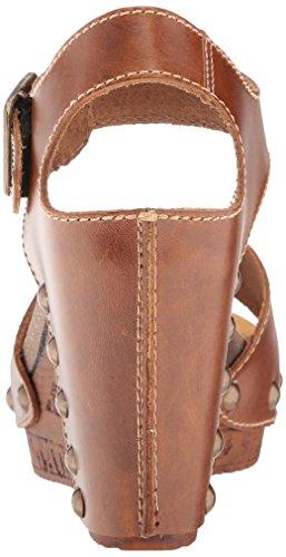 Sbicca Wedge Brella Camel Sandal Women's rOqOwYX