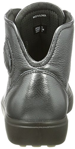 ECCO Soft 7 Ladies, Sneaker Alte Donna Grau (1602dark Shadow)