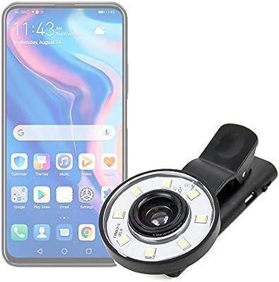 DURAGADGET Flash Selfie Compatible con Smartphone Vivo Y5s, Huawei ...