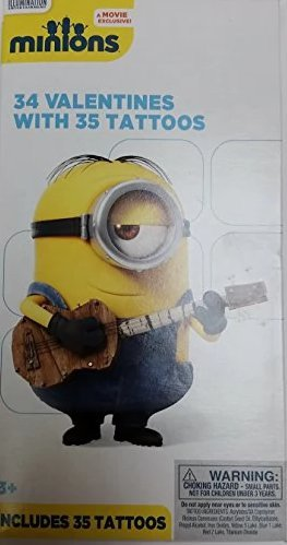 Despicable Me Minions 34 Valentines With 35 Tattoos