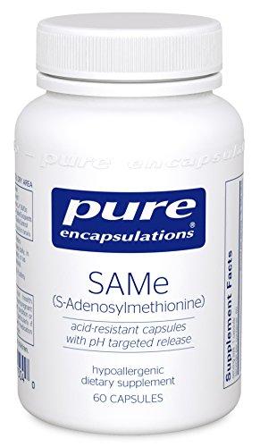 Pure Encapsulations S Adenosylmethionine Hypoallergenic Supplement