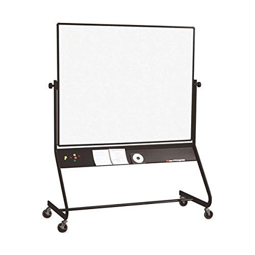 - Euro Reversible Projection Plus/Porcelain Whiteboard Size: 4' H x 6' L