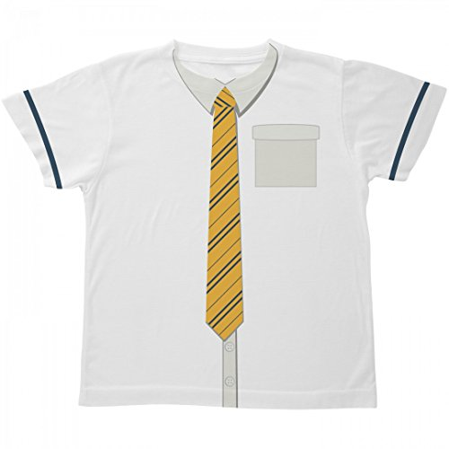 Hogwarts School Uniform Costumes (Yellow Youth Wizard School Costume: All Over Printing Youth SubliVie Tee)