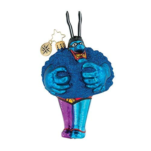 (Christopher Radko Merry Blue Meanie Beatles Themed Ornament - 50th Anniversary of the Yellow Submarine Movie )