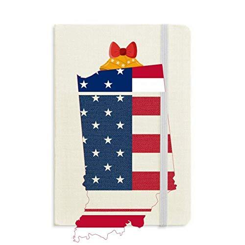 Illinois Bell (Illinois USA Map Stars Stripes Flag Shape Notebook Journal Christmas Jingling Bell)