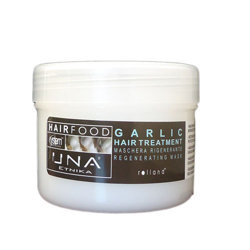 Una Hair Food Garlic Hair Treatment 500 Ml 17.6 Oz by UNA