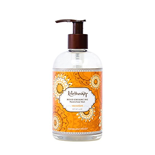 Vac Therapy - Lifetherapy Womens Body Wash | Sulfate Free Body Wash, Bath Bubbles and Liquid Hand Soap (Vacation, 12 oz)