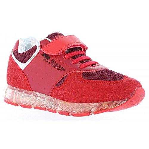 XTI Zapatillas Deporte de Niño 54632 C Rojo