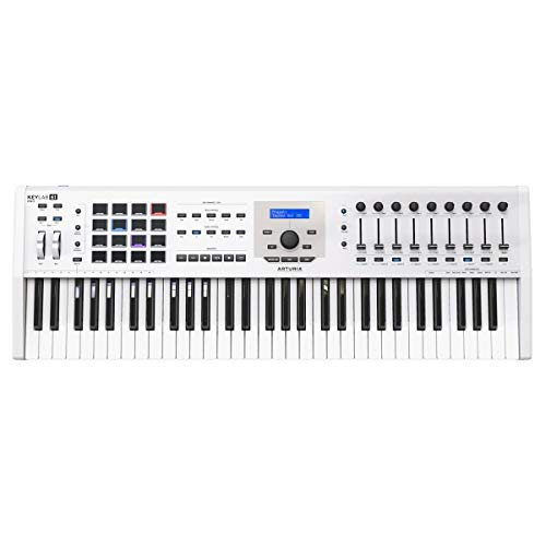 Arturia KeyLab MkII 61 Keyboard Controller - White