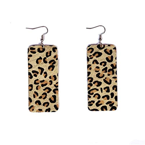 Used, Lightweight Quadrate Leather Faux Horsehair Leopard for sale  Delivered anywhere in USA