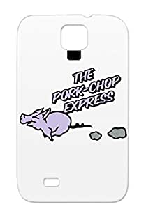 The Pork Chop Express Silver Case For Sumsang Galaxy S4 Miscellaneous Jack Burton Funny Big Trouble In Little China