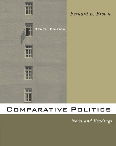 comparative politics notes Introduction to comparative politics introduces the student to the fundamentals of cross-national research, study, and understanding comparative politics is the study of the domestic politics of other countries.