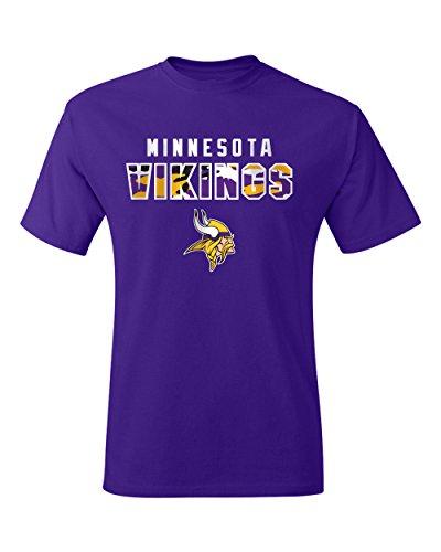 (NFL Minnesota Vikings Men's Short sleeve Cotton T-Shirt,XX-Large)