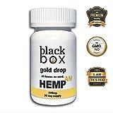 Black Box Hemp - AM Gel Caps w/ B12-500mg Full Spectrum Hemp Oil Extract (16.6mg Per Cap) with MCT Oil - 30 Count