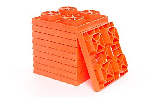 Leveling Blocks,RV Levelers Orange,10 pack