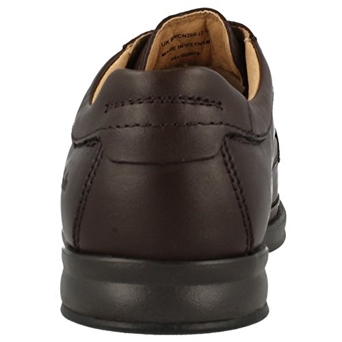 Clarks Scopic Way, Stivali uomo One Size Fits All Dark Brown