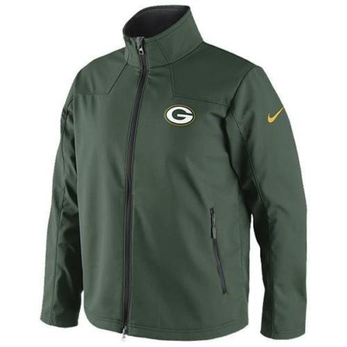 Green Bay Packers Nike Softshell Full Zip Jacket (Small)
