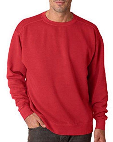 Comfort Colors Chouinard 1566 Adult Crew Neck Sweatshirt Crimson PgmDye XX-Large ()